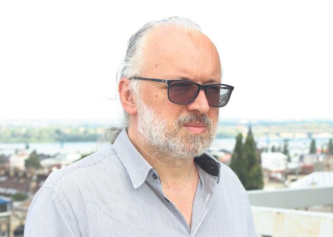 Zoran Đerić v. d. upravnika Srpskog narodnog pozorišta, foto: N. Marjanović