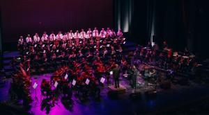 "KONCERT ""ROK OPERA"" <br /> NOVOSADSKI BIG BAND i HOR i ORKESTAR OPERE SNP-a, dirigent: Fedor Vrtačnik"